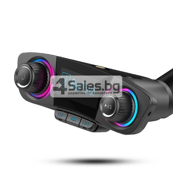 Многофункционален предавател за кола, Bluetooth плейър, mp3, зарядно HF30