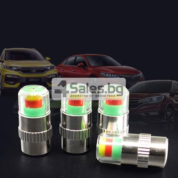 Манометър-капачка за налягането в гумите на превозното средство GUMI ALARM-4 1