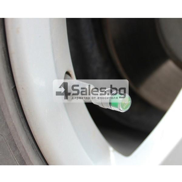 Манометър-капачка за налягането в гумите на превозното средство GUMI ALARM-4 8