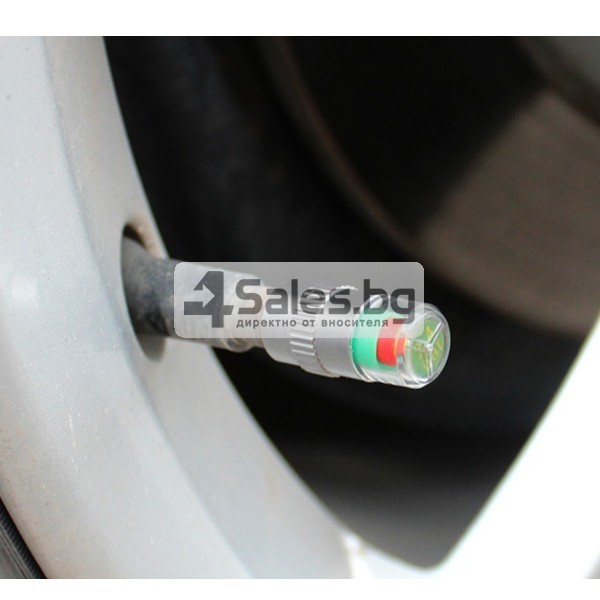 Манометър-капачка за налягането в гумите на превозното средство GUMI ALARM-4 10