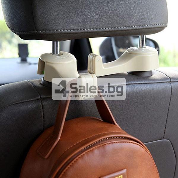 Държач за смартфона при задните места на колата AUTO CHAIR CASE 9