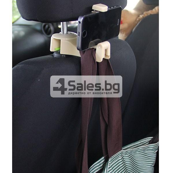 Държач за смартфона при задните места на колата AUTO CHAIR CASE 12