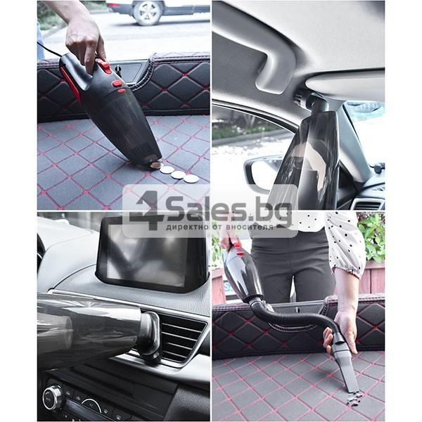 Автомобилна безжична прахосмукачка за сухо и мокро почистване AUTO CLEAN-8 5