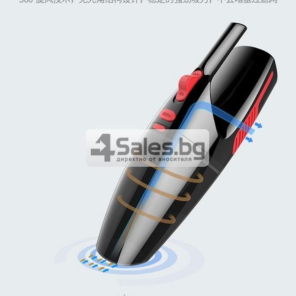 Автомобилна безжична прахосмукачка за сухо и мокро почистване AUTO CLEAN-8 6