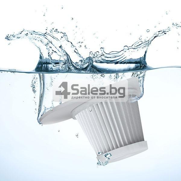 Автомобилна безжична прахосмукачка за сухо и мокро почистване AUTO CLEAN-8 9