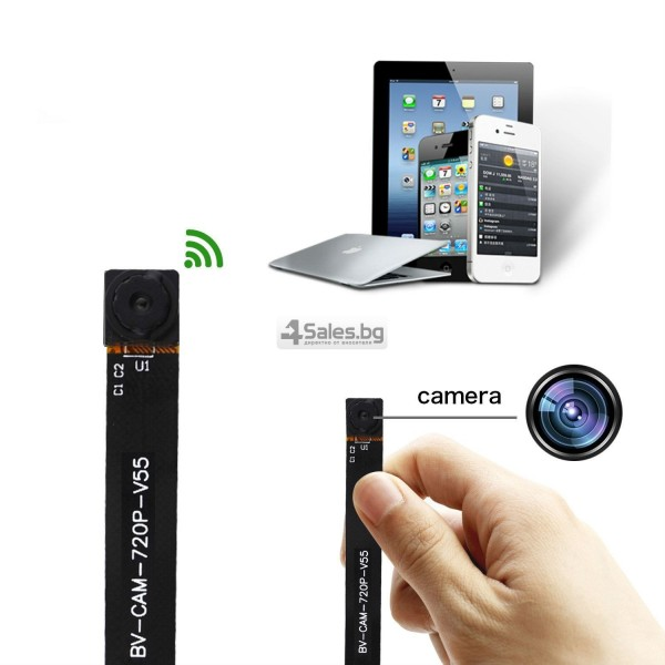 Мини WIFI HD скрита камера за шпиониране IP12 12
