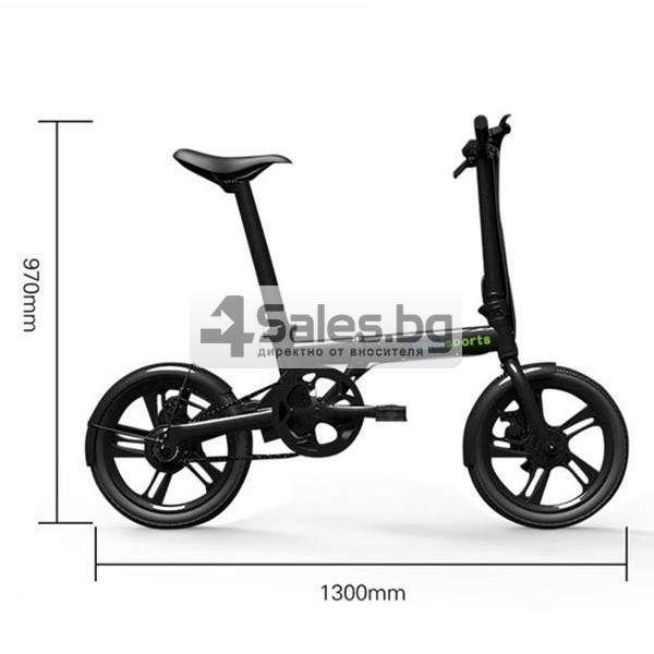 Мини сгъваем електрически велосипед BIKE- 4 2