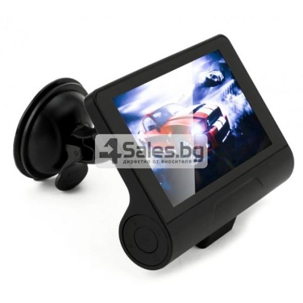 Компактен FULL HD видеорегистратор с голям 4 инчов дисплей и две камери AC50B 2