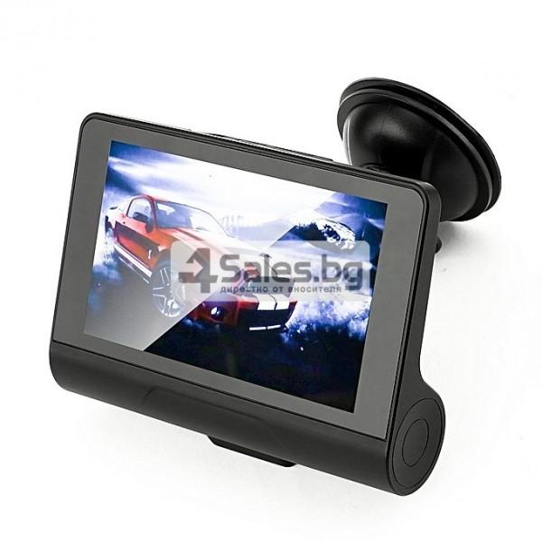 Компактен FULL HD видеорегистратор с голям 4 инчов дисплей и две камери AC50B 5