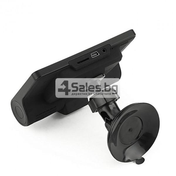 Компактен FULL HD видеорегистратор с голям 4 инчов дисплей и две камери AC50B 6