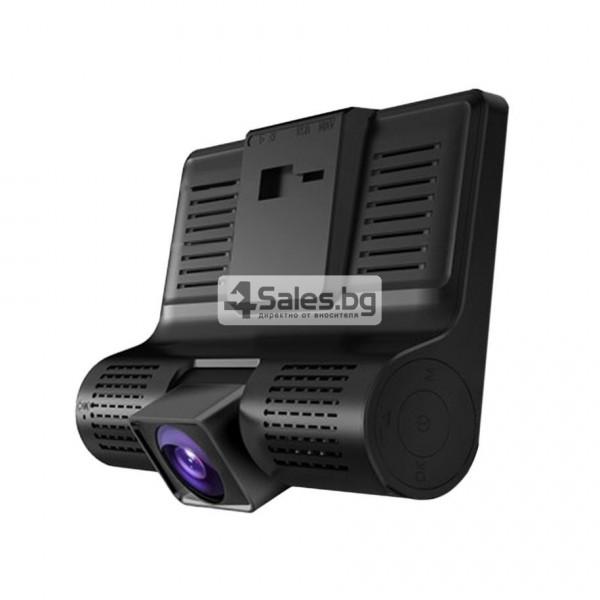 Компактен FULL HD видеорегистратор с голям 4 инчов дисплей и две камери AC50B 7