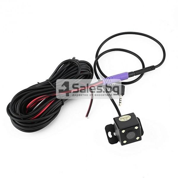 Компактен FULL HD видеорегистратор с голям 4 инчов дисплей и две камери AC50B 11