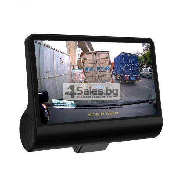 Компактен FULL HD видеорегистратор с голям 4 инчов дисплей и две камери AC50B 14