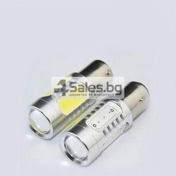 Два броя LED крушки 7,5 W за автомобил CAR LED6 1157