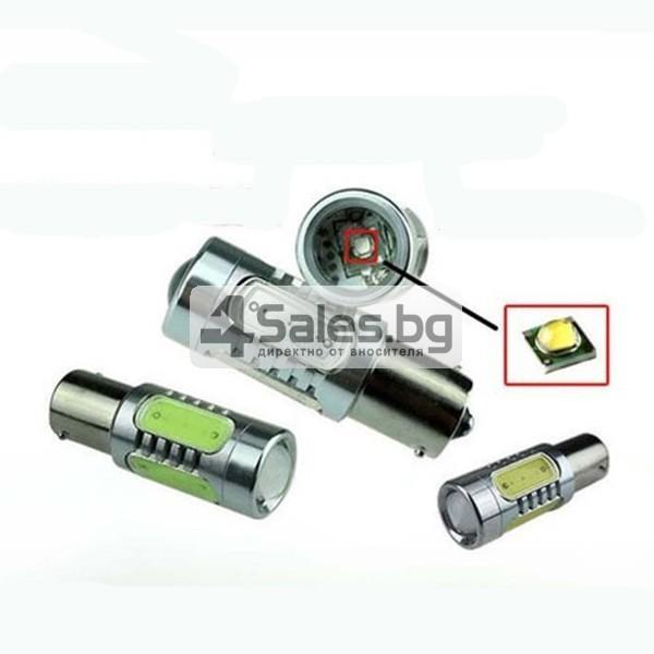 Два броя LED крушки 7,5 W за автомобил CAR LED6 1157 4