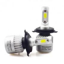 Два броя led светлини за предни фарове за автомобил – S2 led , H4 CAR LED12