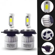 Два броя led светлини за предни фарове за автомобил – S2 led , H7 CAR LED11