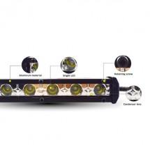 Външен прожектор със шест LED крушки за автомобили и мотоциклети 36 W LED BAR1