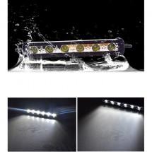Външен прожектор със шест LED крушки за автомобили и мотоциклети 90 W LED BAR3