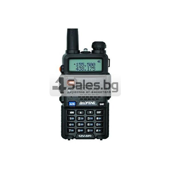 Компактно уоки-токи Baofeng, радиостанция с водо и удароустойчивост BF-UV5R 4