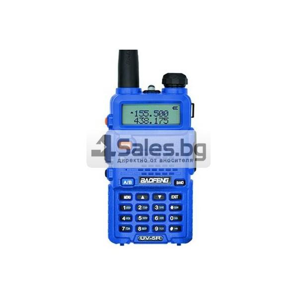 Компактно уоки-токи Baofeng, радиостанция с водо и удароустойчивост BF-UV5R 8
