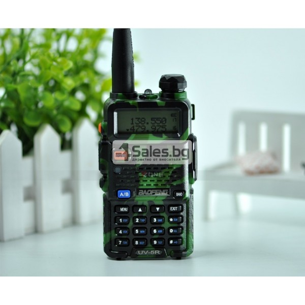 Компактно уоки-токи Baofeng, радиостанция с водо и удароустойчивост BF-UV5R 12