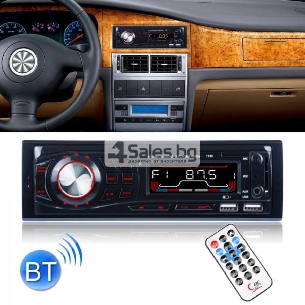 Радио за кола и МР3 плейър с Bluetooth и двоен USB порт, U диск AUTO RADIO-10 1