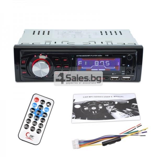 Радио за кола и МР3 плейър с Bluetooth и двоен USB порт, U диск AUTO RADIO-10 6