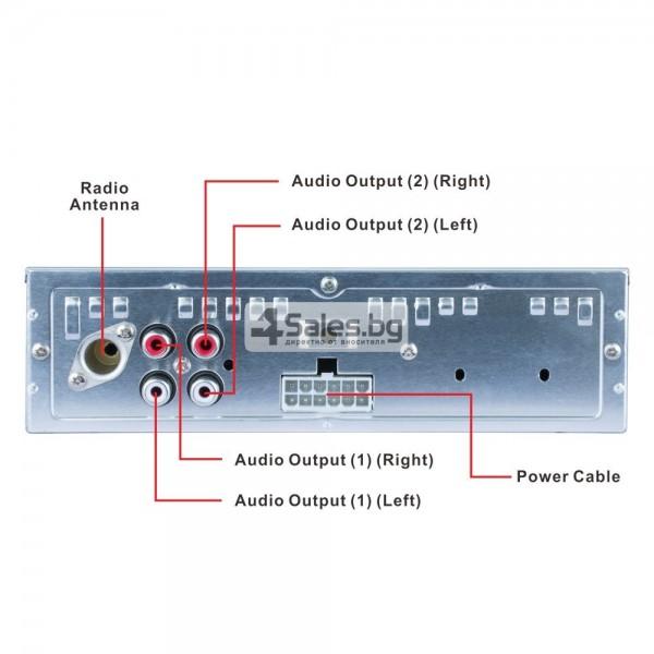 Многофункционален Bluetooth MP3 плейър, FM и връзка със смартфон AUTO RADIO-5 1