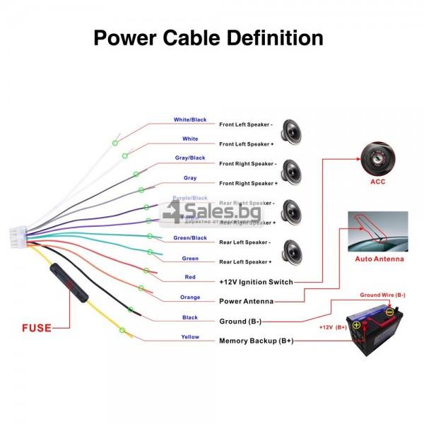 Многофункционален Bluetooth MP3 плейър, FM и връзка със смартфон AUTO RADIO-5 9