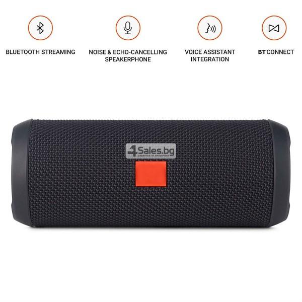 Водоустойчива Bluetooth колонка с чист звук и връзка с други устройства FLIP 3 12