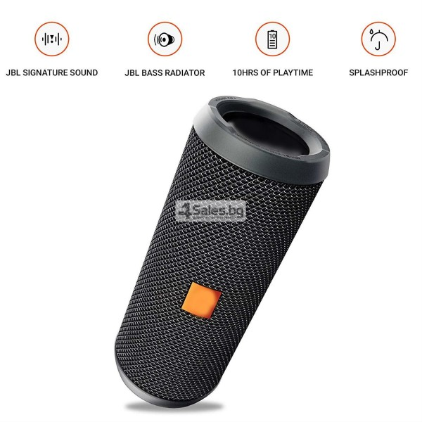 Водоустойчива Bluetooth колонка с чист звук и връзка с други устройства FLIP 3 13