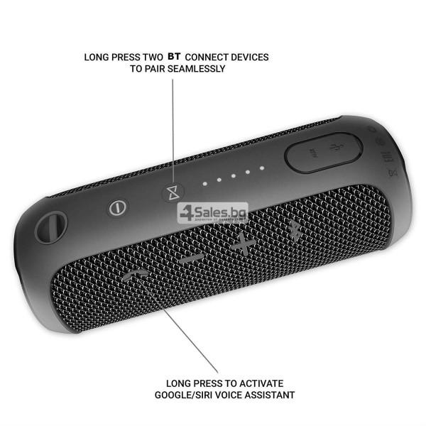 Водоустойчива Bluetooth колонка с чист звук и връзка с други устройства FLIP 3 14