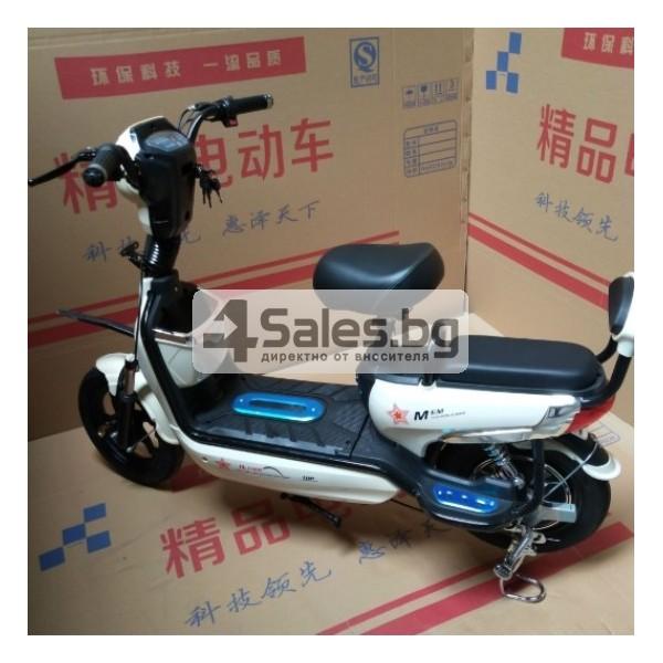 Електрически скутер с акумулаторна батерия, 48 волта, 14 инча MOTOR1 3