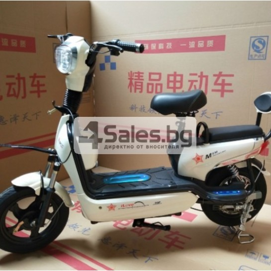 Електрически скутер с акумулаторна батерия, 48 волта, 14 инча MOTOR1