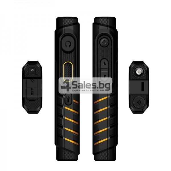 Мобилен телефон и радиостанция в едно със защита от прах, вода и удар iOutdoor T2 7