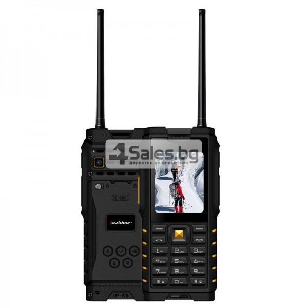 Мобилен телефон и радиостанция в едно със защита от прах, вода и удар iOutdoor T2 13