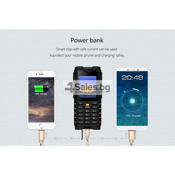 Мобилен телефон и радиостанция в едно със защита от прах, вода и удар iOutdoor T2 17