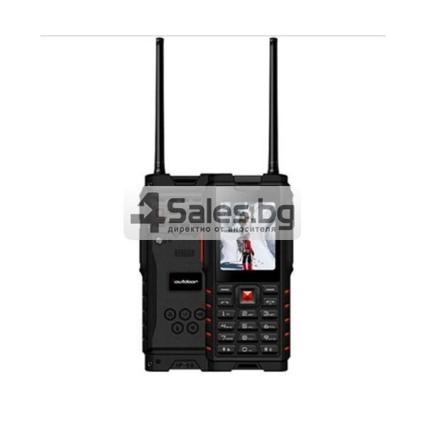 Мобилен телефон и радиостанция в едно със защита от прах, вода и удар iOutdoor T2 19