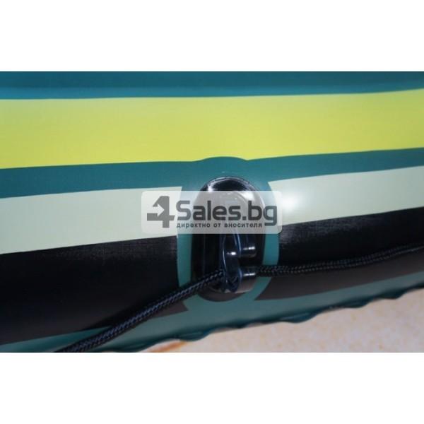 Надуваема PVC лодка с аксесоари подходяща за двама възрастни и дете BOAT-8 8