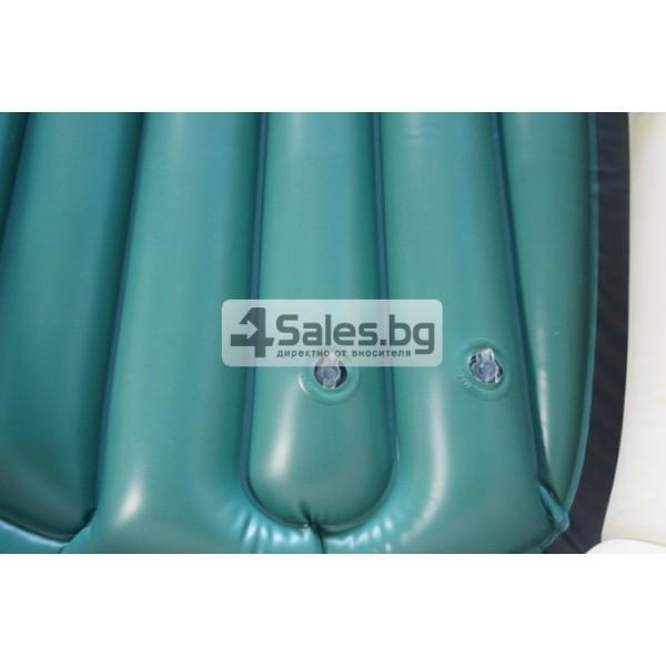 Надуваема PVC лодка с аксесоари подходяща за двама възрастни и дете BOAT-8 10
