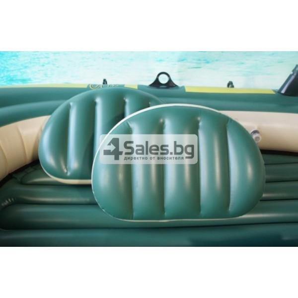 Надуваема PVC лодка с аксесоари подходяща за двама възрастни и дете BOAT-8 12