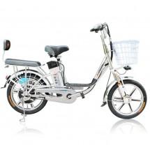 Мощен и лек електрически велосипед 18 инча с допълнителна седалка BIKE-5 48V8A