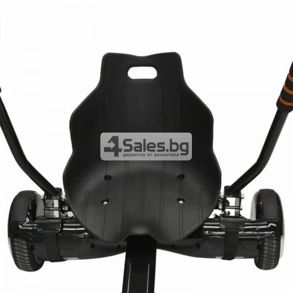 HOVERKART H101 удобна седалка за ховърборд от неръждаема стомана 4