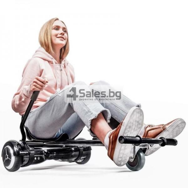 HOVERKART H101 удобна седалка за ховърборд от неръждаема стомана 5