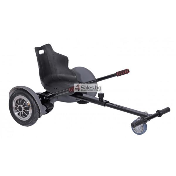 HOVERKART H101 удобна седалка за ховърборд от неръждаема стомана 6