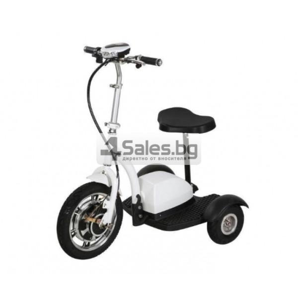 Сгъваема електрическа триколка скутер подходяща за двама TRIKOK3 1