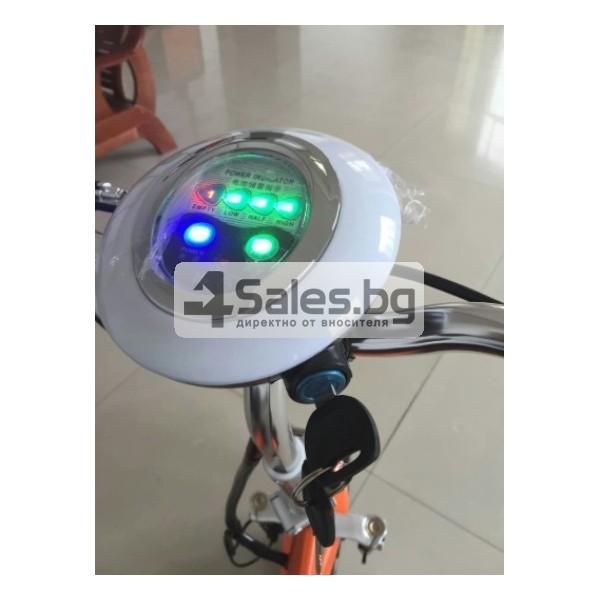 Сгъваема електрическа триколка скутер подходяща за двама TRIKOK3 3