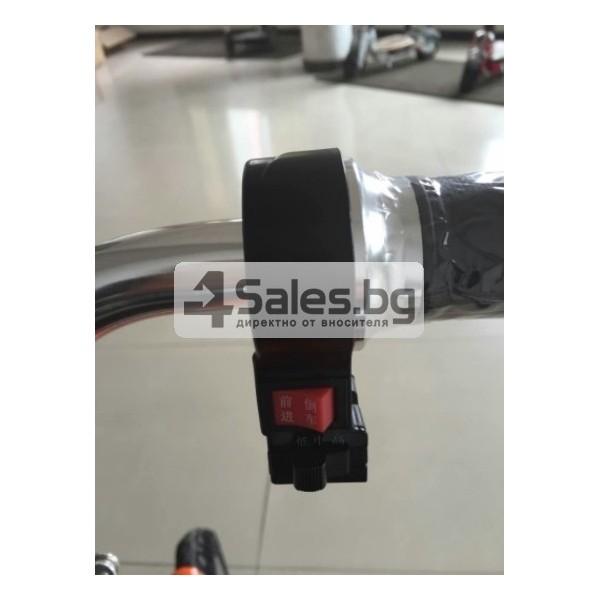 Сгъваема електрическа триколка скутер подходяща за двама TRIKOK3 4