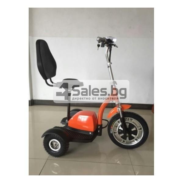 Сгъваема електрическа триколка скутер подходяща за двама TRIKOK3 6